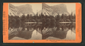 Mirror Lake and reflections, Yo-Semite Valley, Mariposa County, by Lawrence & Houseworth.png