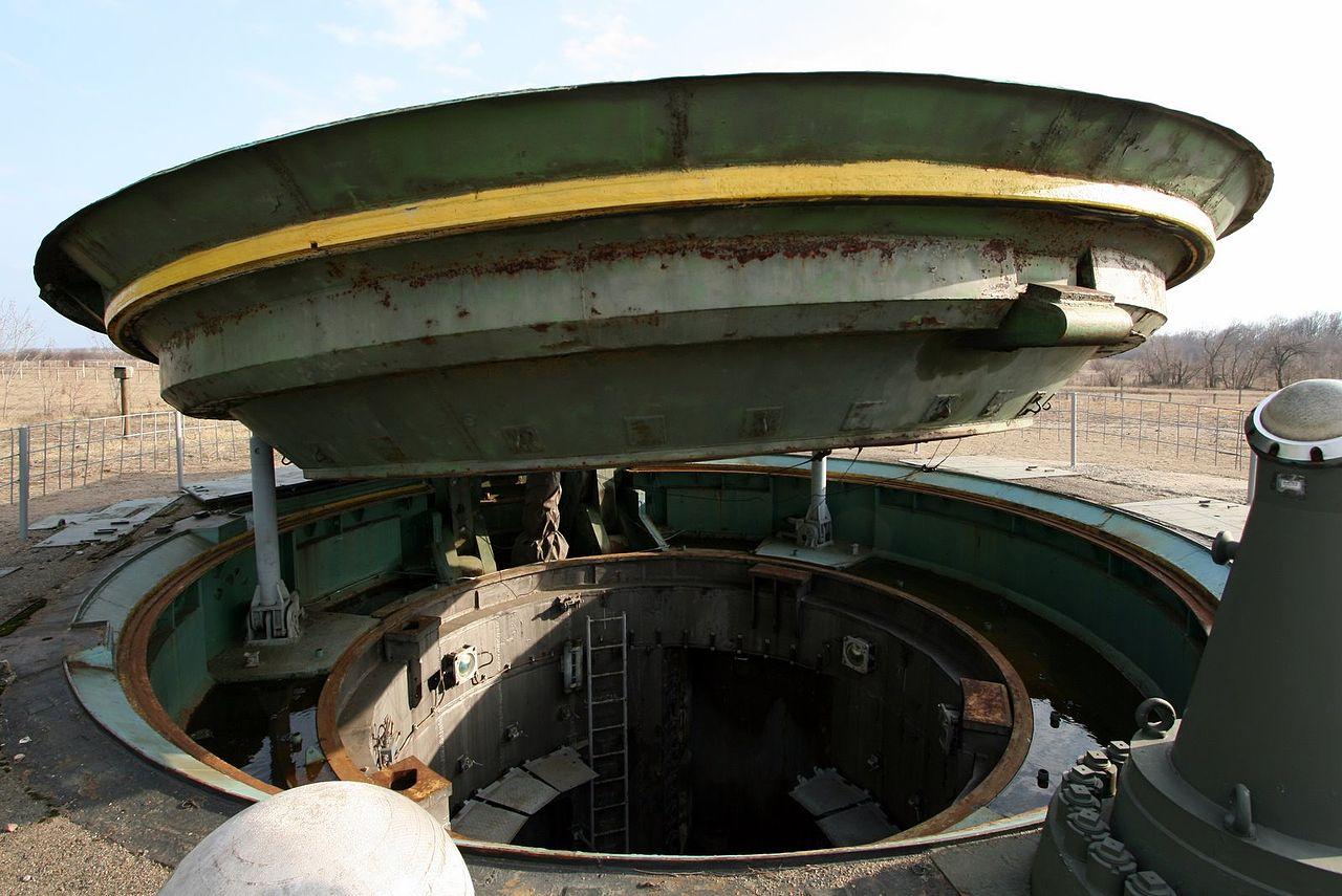 Missile silo in central Ukraine