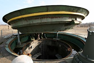 Nuclear weapons and Ukraine - Image: Missile silo of a SS 24 missile (2)