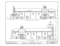 Mission San Luis Rey de Francia, Mission Road, Oceanside, San Diego County, CA HABS CAL,37-OCSI.V,1- (sheet 9 of 25).png