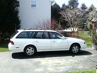 Mitsubishi Diamante - 1993–1996 Mitsubishi Diamante LS station wagon (US)