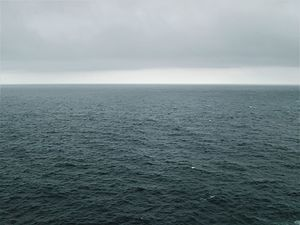 World Ocean - The Atlantic, one component of the system, makes up 23% of the 'global ocean'.