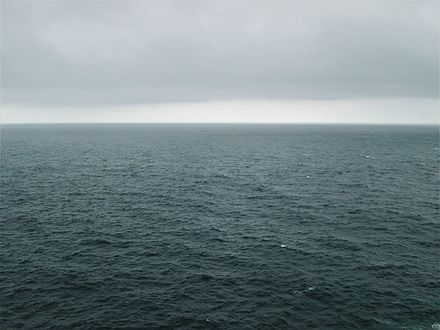 "The Atlantic, one component of the system, makes up 23% of the ""global ocean""."