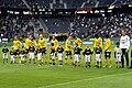 Mjällby AIF lineup v AIK in 2013.jpg