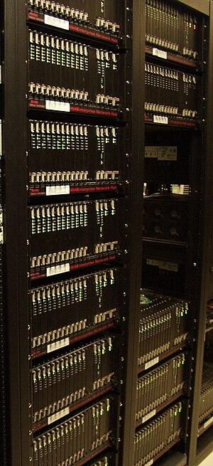 USR Robotics Modem banks at an ISP.