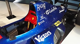 Modena (racing team) - Image: Modena Racing Team F1 car