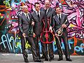 Modern Quartet - Southbank skatepark, Southbank Centre, 2011-03-25 (photo by Garry Knight).jpg