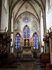 Mogiła - Klasztor - Ołtarz.JPG