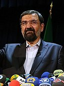 Mohsen Rezaee announcing his third presidential candidacy in 2013.jpg