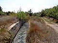 Molí del Vado. Vista general i séquia de Tormos.jpg