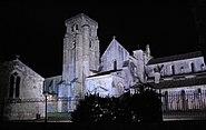 Monasterio de Santa María la Real de Las Huelgas de Burgos de noche