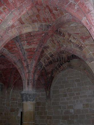 Rueda Abbey - Interior view.