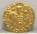 Moneta aurea barbarica a imitazione di coni bizantini, a nome di imperatore incerto, VI sec. 01.JPG