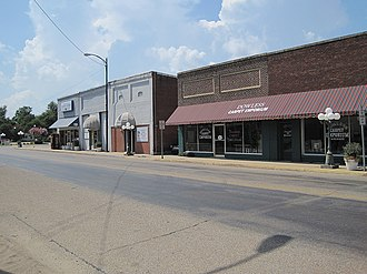 Monette, Arkansas - Downtown Monette, July 2011