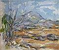 Montagne Sainte-Victoire, par Paul Cézanne 106.jpg