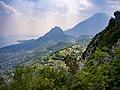 Monte Castello di Gaino Monte Pizzocolo Sasso fraz di Gargnano Garda.jpg
