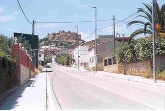 Montesa, Valencia - Image: Montesa y su Castillo