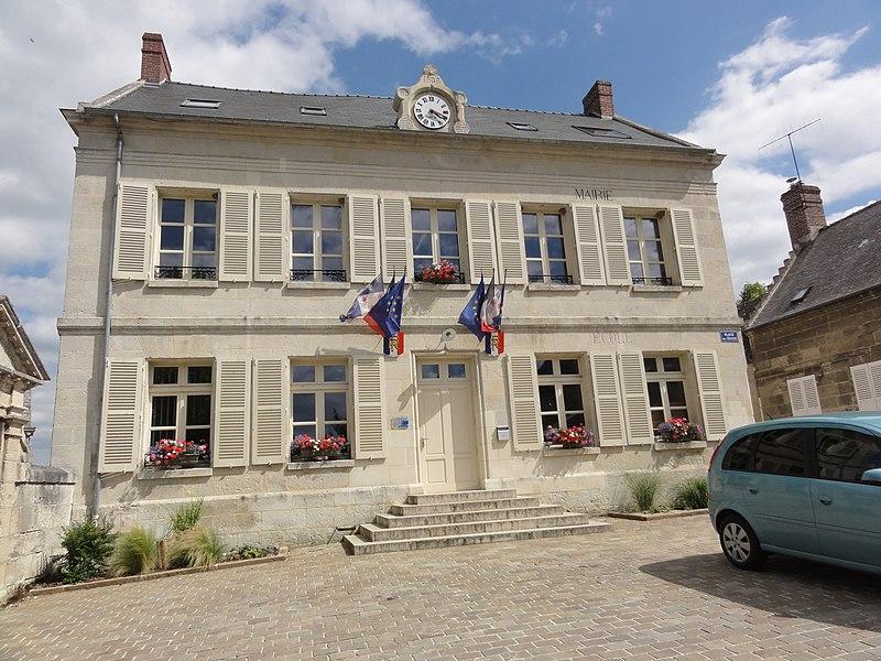Montigny-Lengrain (Aisne) mairie-école