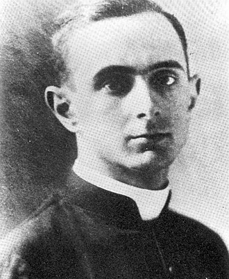 Pope Paul VI - Montini on the day of his ordination in 1920