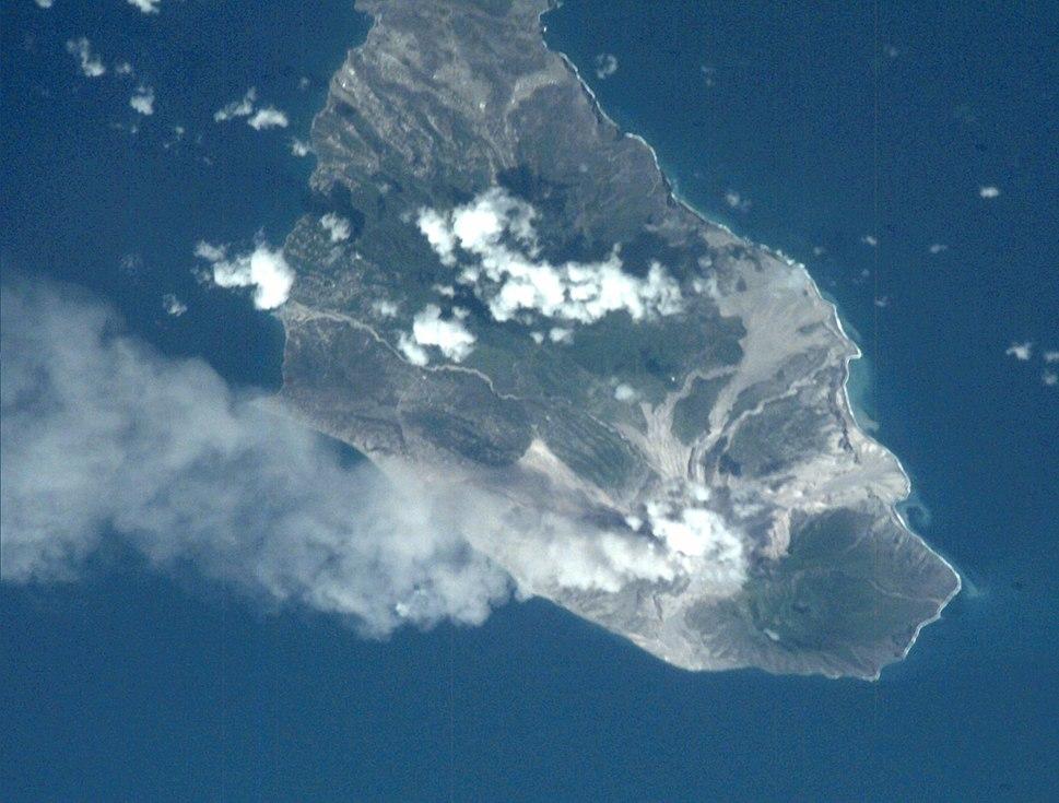 Montserrat Soufriere volcano 2