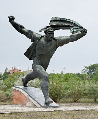 Memento Park - Image: Monument République des Conseils Budapest