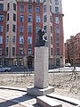 Monument to Vladimir Ermak on Volodi Ermaka Street.jpg