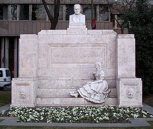 Juan Valera y Alcalá-Galiano - Monument to Valera in Madrid (L. Coullaut, 1928).