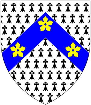 John Moore (bishop of Ely) - Image: Moore Of Moore Hayes Devon Arms