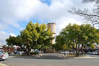 Mooroopna Town in Victoria, Australia