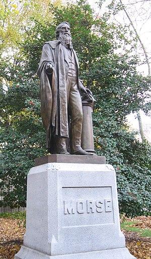 Samuel Finley Breese Morse (sculpture) - The sculpture in 2008