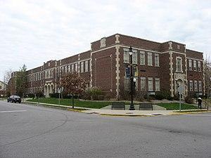 Morton School (West Lafayette, Indiana) - Morton School, November 2009