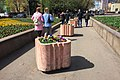 Moscow, Marksistskaya Street 24, pedestrian obstacles (31211235396).jpg