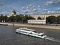 Moscow, Moskvoretskaya 7 pano boats Aug 2009 02.JPG