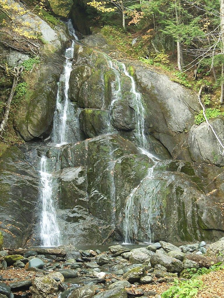 Glen Moss Falls in Granville VT