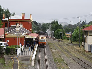 Southern Highlands Line rail service in New South Wales, Australia