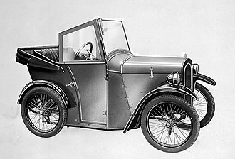 Invalid carriage - Image: Motorised invalid car, The Pultney Two Seater'. Wellcome L0011508