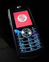 Motorola L71 on the China Mobile network 20100521.jpg
