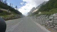 File:Motorradtour Werschetzpass - Vršič-Pass Slowenien - motorno kolo Prelaz Vršič Slovenija.webm