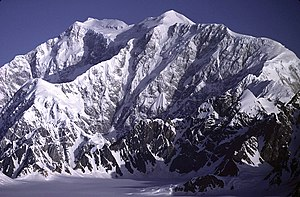 Ultra-prominent peak - The summit of Mount Logan in the Yukon, the highest point in Canada, is ranked sixth in the world by topographic prominence.