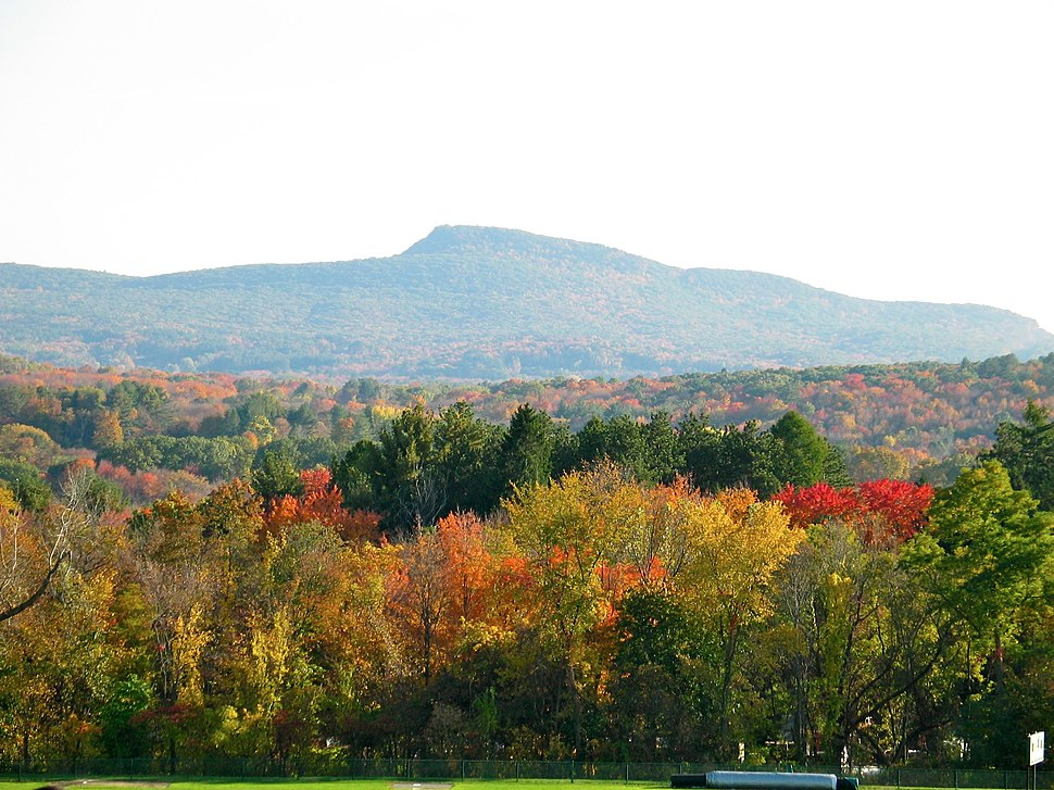 Mount Norwottuck in Autumn