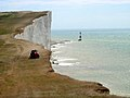 Mowing the lawn at Beachy Head - geograph.org.uk - 30788.jpg