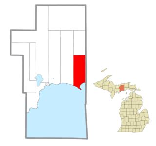 Mueller Township, Michigan Civil township in Michigan, United States