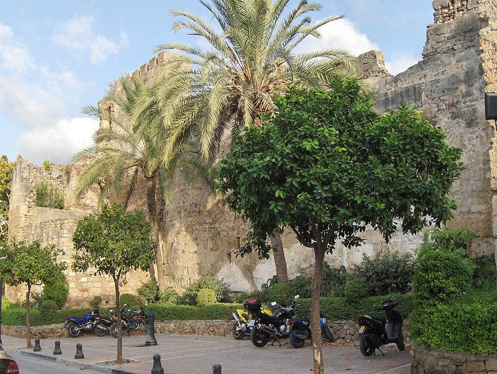 Moorish defensive walls of Marbella