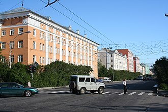 Murmansk - Central part of Murmansk
