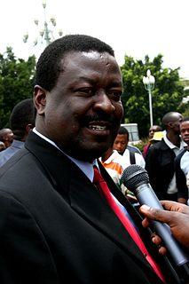Musalia Mudavadi Kenyan politician