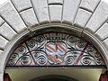Museo di fucecchio, stemma corsini su inferriata.JPG