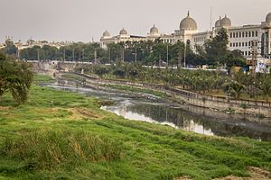 Salar Jung Museum - A view of Salar Jung Museum along with Musi River