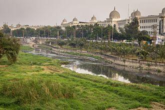 Salar Jung Museum - A view of Salar Jung Museum along with Musi River