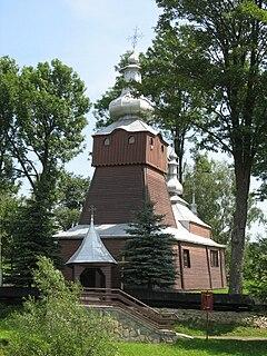 Muszynka Village in Lesser Poland, Poland