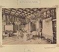 Nádasdladány, Nádasdy-kastély, könyvtár. A felvétel 1895-1899 között készült. - Fortepan 83549.jpg